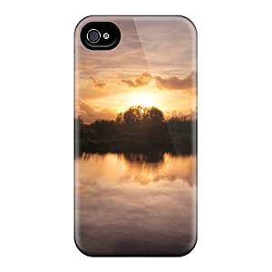 THYde New Arrival Sunset Windmill For ipod Touch4 Case Cover ending