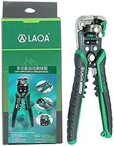 James Products LAOA LA815238 Alicates Pelacables automáticos alicates de Corte Pelacables Verde: Amazon.es: Hogar