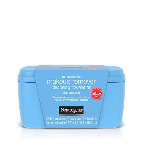 Neutrogena Makeup Remover Cleansing Towelettes & Wipes, 25 Count - Neutrogena Makeup Remover Cleansing Towelettes