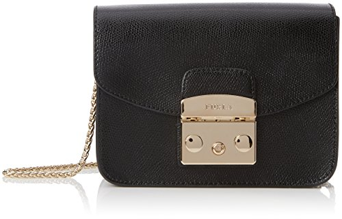 Furla Metropolis Mini Crossbody Onyx 3 One Size - Furla Accessories