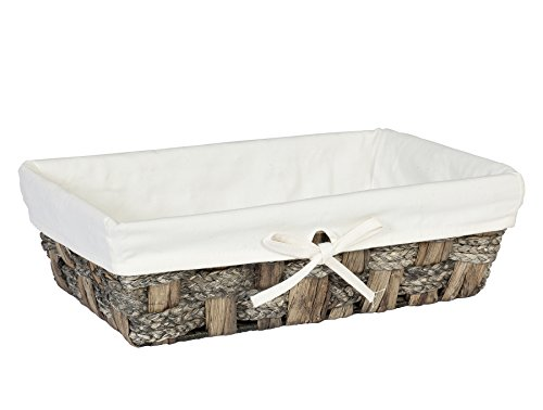 Creative Bath Products Java Collection Vanity Basket, Gray