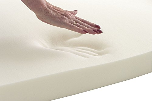 Upholstery Visco Memory Foam Sheet- 3''Hx24W''x72L'' - 3.5 lb Density- Luxury Quality- Good for Sofa Cushion, Mattresses, Wheelchair, Doctor Recomended for Backache & Bed Sores- Dream Solutions USA by Dream Solutions USA
