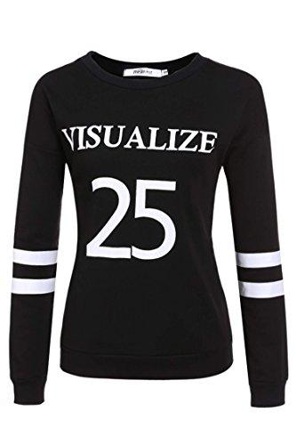 Meaneor Pullover Fleece Sweatshirt T shirt