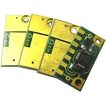 Refill BCMY for Konica Minolta Bizhub C224 C284 C364 C454 C554 4 Drum Chip E