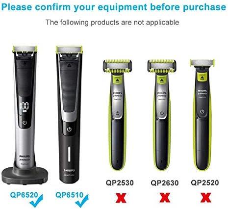 BERLS Cargador para afeitadora eléctrica Philips OneBlade Pro ...