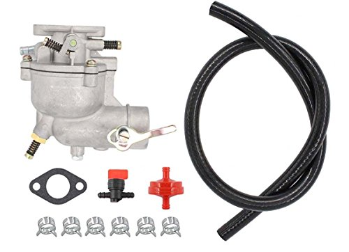 Carburetor Carb Tune-Up kit For Coleman Powermate 3250 4000 5000 Portable Gas Pincor 2500 3500 Briggs & Stratton 5000 Chicago Electric 8000 Watts Generator Engine Motor Homelite E3000-1A/E4000-1A