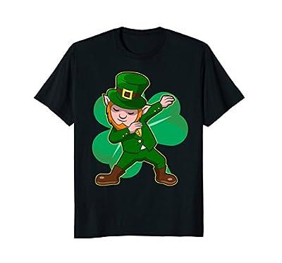 Dabbing Leprechaun T-shirt Funny Dab St Patrick Day Gift