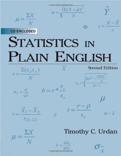 Statistics in Plain English, 2nd Edition