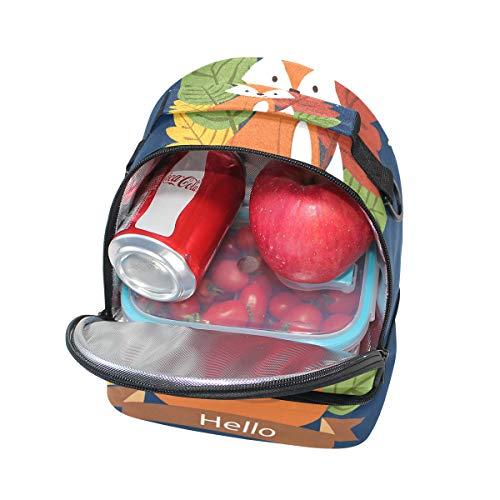 Alinlo la de almuerzo escuela aislamiento para correa hombro ajustable con el de pincnic con para Bolsa 67xB6U