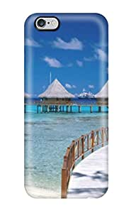 Sanp On Case Cover Protector For Iphone 6 Plus (scenery)