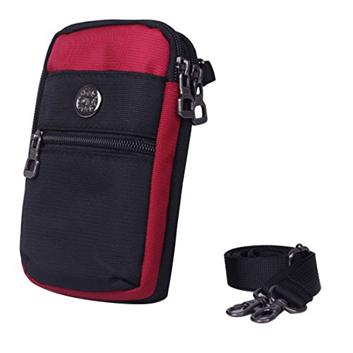 Mini Red New Strap Shoulder Pack Cellphone Waist Wallet Bag Small Women's with LerBen Girls Purse Crossbody tTwUUZq