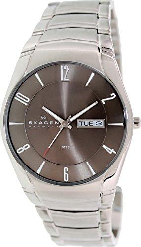 Skagen Men's 531XLSXM1 Laurits Stainless Steel Link Watch (Bracelet Link Skagen)