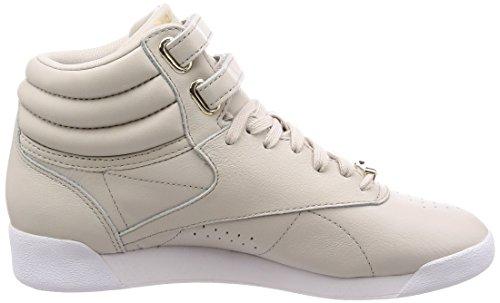 Pink Cn1496 WoMen Reebok Gymnastics Beige Shoes IS64q