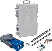 KREG Sistema de gabarito de furos de bolso R3 Jr. Azul