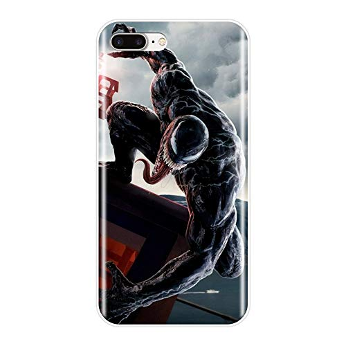 1 piece Marvel SuperHero Venom Printed Phone Case Silicone For iPhone X XR XS MAX Soft Back Cover For Apple iPhone 6 S 6S 7 8 Plus Case