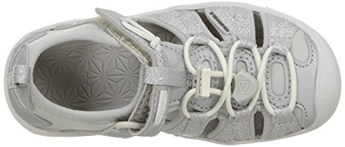 KEEN Baby Moxie Sandal, Silver, 5 M US Toddler - Image 8