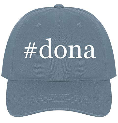 #dona - A Nice Comfortable Adjustable Hashtag Dad Hat Cap, Light Blue ()