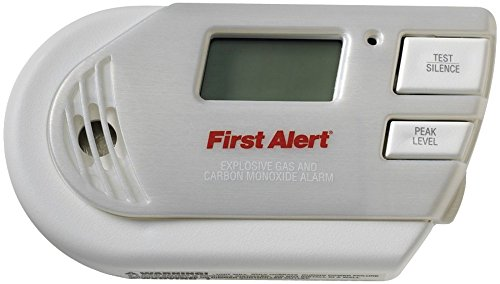 First Alert 3-In-1 Explosive Gas & Carbon Monoxide Alarm ...