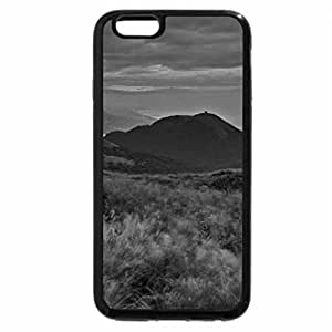 iPhone 6S Case, iPhone 6 Case (Black & White) - SUNSET CLOUDS