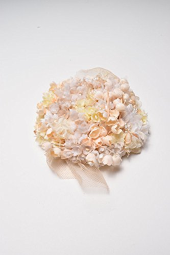Nostalgic 40's Bridal Hair Clip | Wedding & Bridal | Cotton Flowers | Handmade in Japan by Brandimport