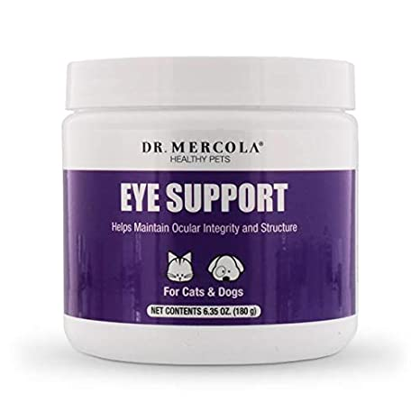 Amazon.com: Dr. Mercola Eye Support para mascotas – 180 ...