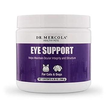 Amazon.com: Dr. Mercola Eye Support para mascotas – 180 ...