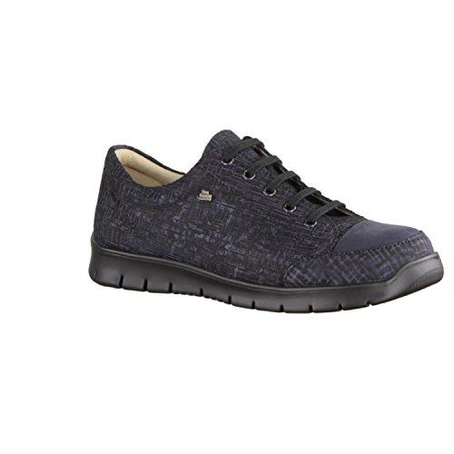 FINNCOMFORT Swansea - Zapatos de cordones de Piel para mujer azul azul Notte/Marine