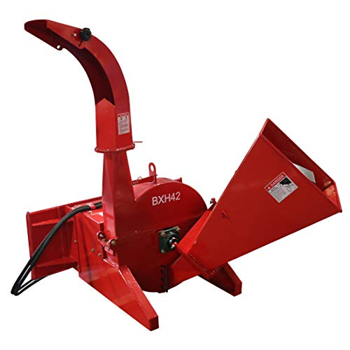 Titan Distributors Inc. Hydraulic Wood Chipper for Skid Steers and Tractors with Universal Quick Tach | 4