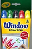 Window Crayons 5 Ct 24 pcs sku# 905476MA