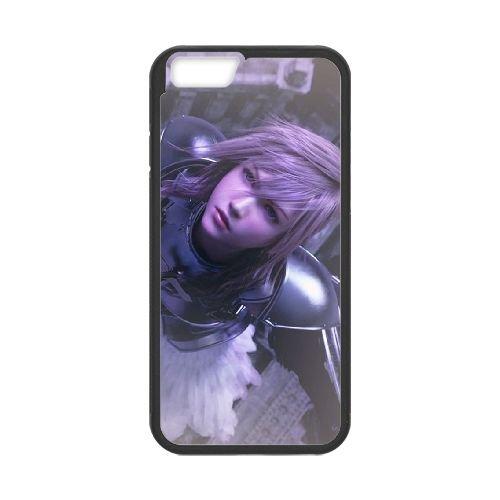 Eclair Farron Final Fantasy 004 coque iPhone 6 4.7 Inch Housse téléphone Noir de couverture de cas coque EOKXLLNCD17862