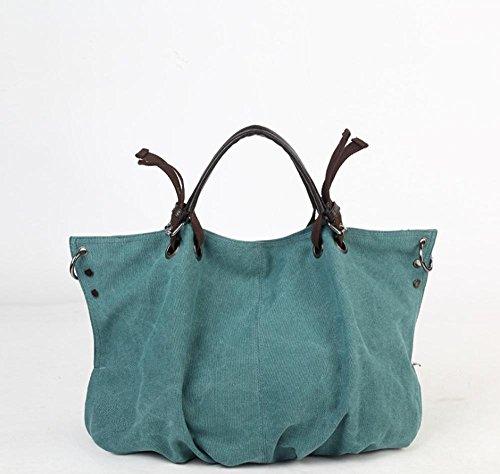 Aoligei Fashion Girl toile sac toile sac tissu gros casual version coréenne Baotan épaule B
