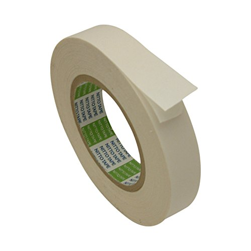 Nitto (Permacel) P-02 Double Coated Kraft Paper Tape: 1 in. x 36 yds. (White)