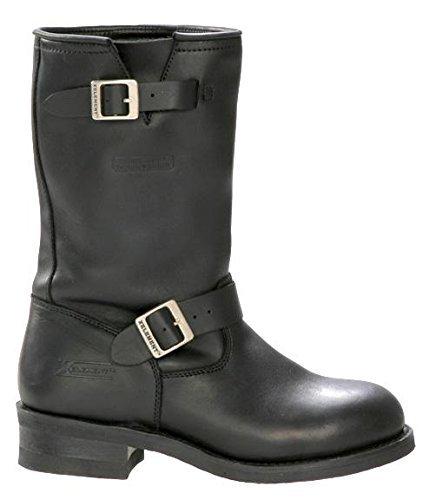 Xelement 1440 Classic Mens Black Engineer Boots - 10