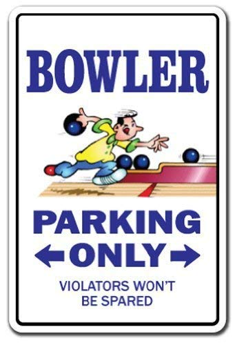 Metal Sign 12x16 inches Bowler Bowling Ball Gift Shirt for sale  Delivered anywhere in USA