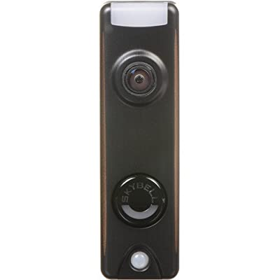 Honeywell SkyBell Slim Design 1080p Wi-Fi Video Doorbell Bronze Finish