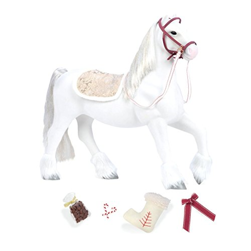 """Our Generation 20"""" Clydesdale Horse for 18"""" Dolls"""