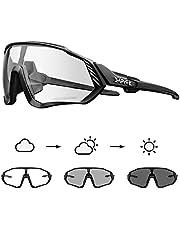 KAPVOE Gafas de ciclismo para hombre fotocromáticas gafas de sol para mujer MTB bicicleta de montaña