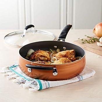 Amazon.com: Tasty 9.5 Inch Non-Stick Fry Pan - Titanium Reinforced ...