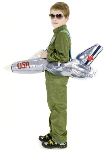 Princess Paradise Plush Ride-in Airplane Costume, One Size -