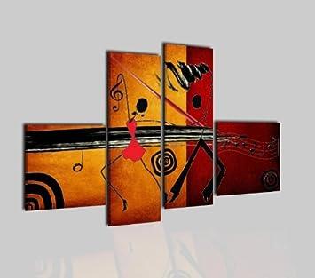 Toile Uni Tableau Peinture Moderne Sicilfly