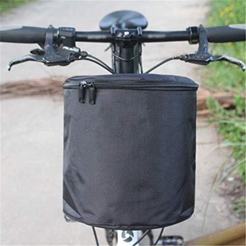 Subobo Cesta de Bicicleta Canasta Plegable de Tela Impermeable ...