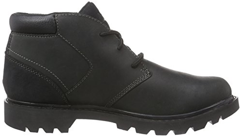 Footwear Nero Uomo Polacchine Cat black Stout nBPgnRx