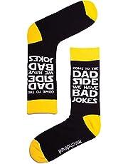 Mitch Dowd - Men's Dad Jokes Crew Socks