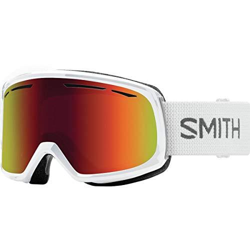 Drift Ski - Smith Optics Womens Drift Snow Goggles White Frame/Red Sol-X Mirror