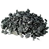 Shungite 200 g di pietre grezze, sassi d'acqua