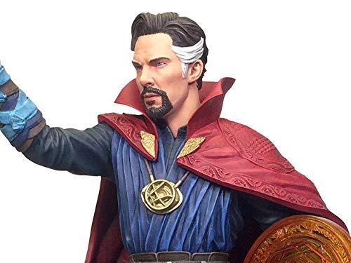 DIAMOND SELECT TOYS Marvel Gallery: Avengers Infinity War Movie Doctor Strange PVC Diorama Figure, Blue