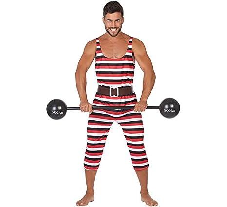 Atosa 54165 Princess, M-L Costume Strong Man, Size XL, Men, Women,