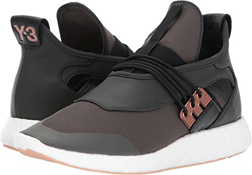 Y-3 Women's Y-3 Elle Run Sneakers, Black Olive/Copper Met/Black, 6.5 UK