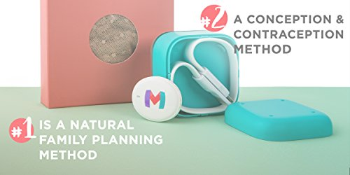 Ovulation Fertility Monitor Kit by HIMAMA - Great Predictor for Natural Family Planning - Period Tracker Sticks on Body - Connect to App (Medium) by HIMAMA (Image #2)